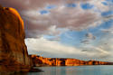 Rim Light - Lake Powell